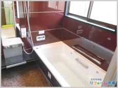 横浜市旭区戸建にて人気のTOTOスプリノ1717サイズでのお風呂リフォーム事例