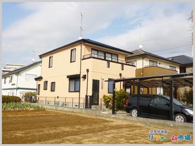 横浜市都筑区戸建てにてアステック遮熱塗料での外壁リフォーム事例