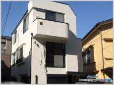 東京都大田区戸建てにて日本ペイントの塗料で外壁塗装のリフォーム事例