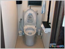 横浜市旭区戸建てにて人気のTOTOピュアレストEXでのトイレリフォーム事例