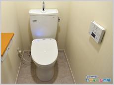神奈川県藤沢市マンションにて人気のTOTOピュアレストQRでのトイレリフォーム事例