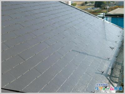千葉県柏市戸建てにて日本ペイントの最高級のフッ素塗料での屋根リフォーム事例