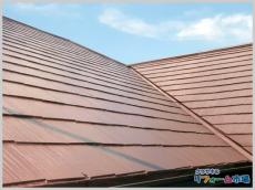 高級感のある光沢がでるフッ素塗料での屋根塗装リフォーム