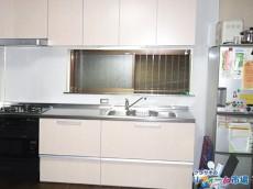 横浜市保土ヶ谷戸建てにて人気のクリナップラクエラ・ガスオーブン付でのキッチンリフォーム事例