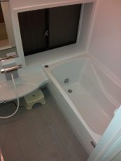 在来工法の浴室からユニットバスへ