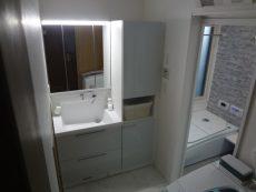 川崎市高津区戸建にて人気のTOTOオクターブでの洗面台リフォーム事例