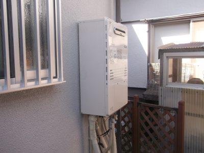 東京都世田谷区戸建にて人気のNORITZエコジョーズでの給湯器リフォーム事例