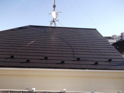 横浜市神奈川区戸建にて人気の日本ペイントフッ素塗料での外壁・屋根塗装リフォーム事例