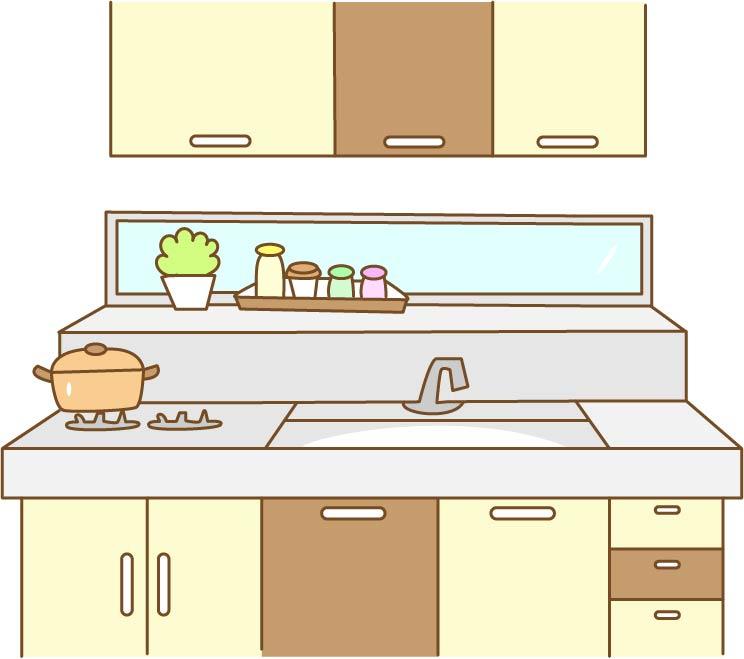 キッチン収納をリフォーム使いやすさ