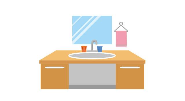 洗面化粧台のオプションは確実に使うものを