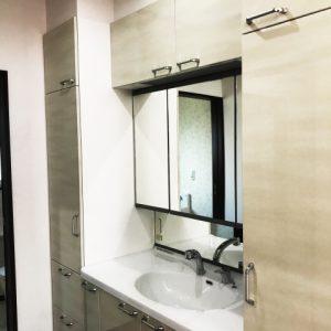 あると便利なおすすめのオプション!洗面化粧台をリフォームでより使いやすく