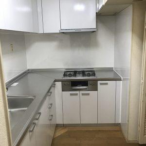 横浜市金沢区マンションにて人気のLIXILシエラでのキッチンリフォーム事例