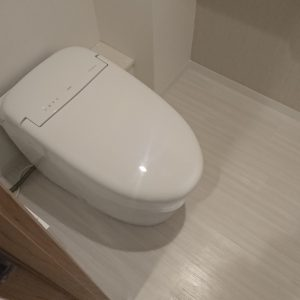 横浜市都筑区マンションにて人気のTOTOネオレストでのトイレリフォーム事例
