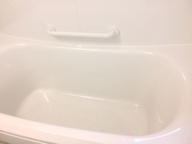 使いやすい浴槽に