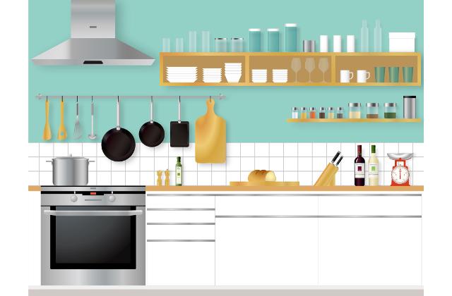 キッチンの汚れは溜めないこと