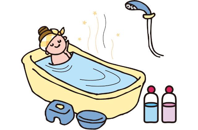 目でも楽しめて癒されるお風呂に