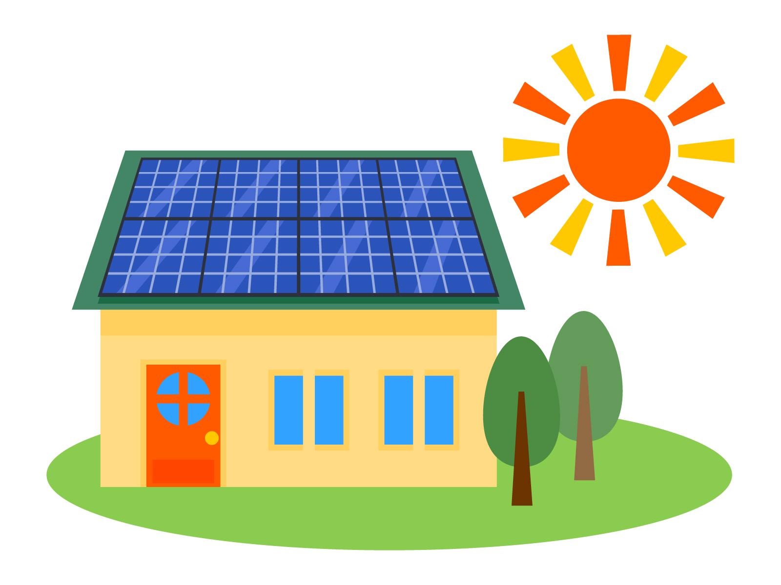太陽光発電装置の設置