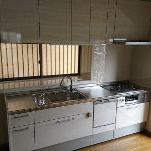 横浜市保土ヶ谷区戸建キッチンアフター