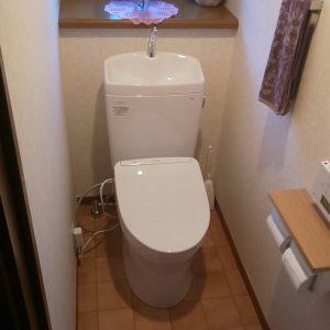 川崎市多摩区戸建トイレアフター