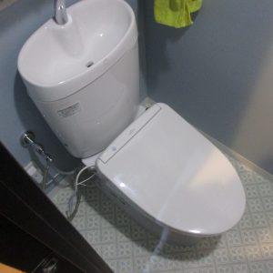 横浜市青葉区戸建トイレアフター