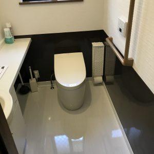 横浜市西区戸建トイレアフター
