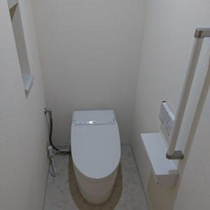 横浜市青葉区マンションで人気のTOTOネオレストによるトイレリフォーム事例